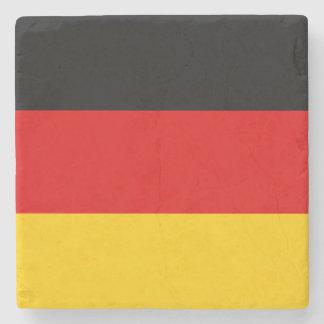 Patriotic German Flag Stone Coaster