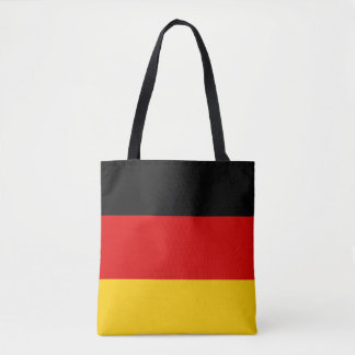 Patriotic German Flag Tote Bag