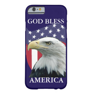 Patriotic God Bless America Barely There iPhone 6 Case