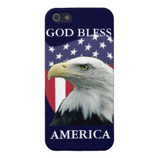 Patriotic God Bless America iPhone 5/5S Cover