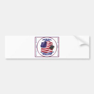 Patriotic-GodBlessAmerica.png Bumper Sticker