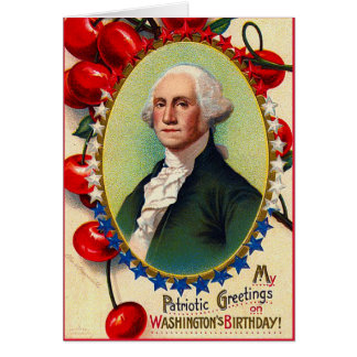 Patriotic Greetings Greeting Card