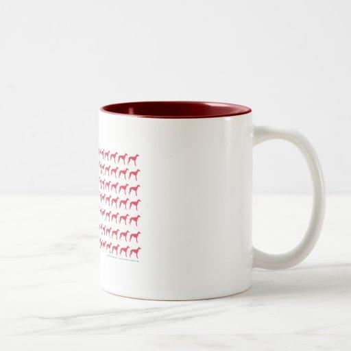 Patriotic Greyhound Dog Coffee Mug