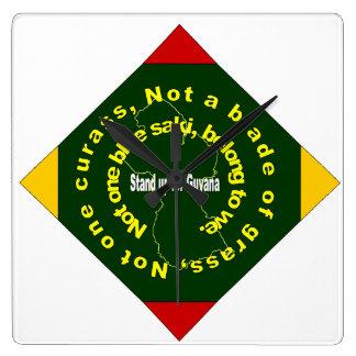 Patriotic ,Guyana Diamond  Clock
