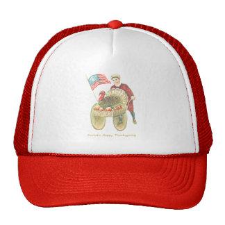 Patriotic Happy Thanksgiving Trucker Hat