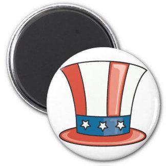 Patriotic Hat Magnet