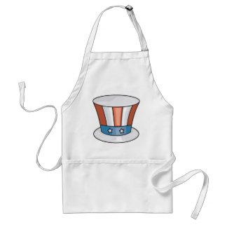 Patriotic Hat Standard Apron