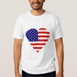Patriotic Heart Shirts