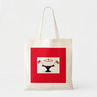 Patriotic Holiday Tote Bag