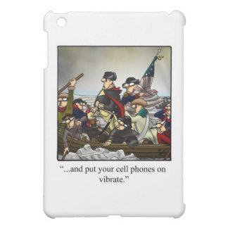 Patriotic Humorous Cartoon Ipad Cover! Case For The iPad Mini