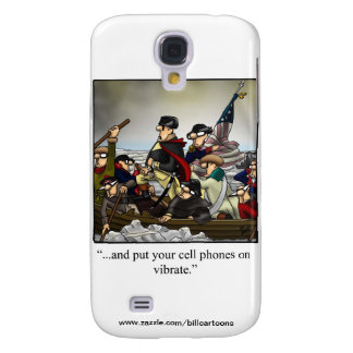 Patriotic Humorous Cartoon Iphone Cover! Galaxy S4 Case