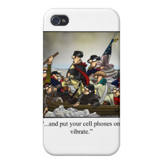Patriotic Humorous Cartoon Iphone Cover! iPhone 4/4S Covers