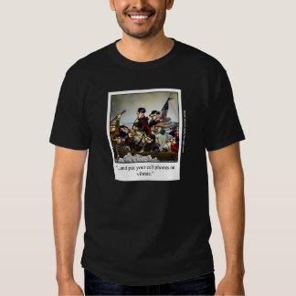 Patriotic Humorous Cartoon Tee Shirt