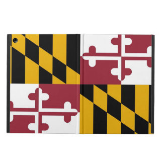 Patriotic ipad case with Flag of Maryland