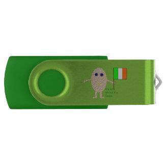 Patriotic Irish Egg Custom USB Drive