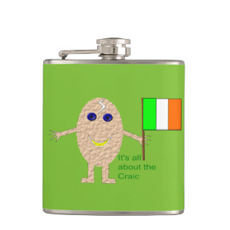 Patriotic Irish Egg Flask