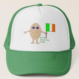 Patriotic Irish Egg Hat