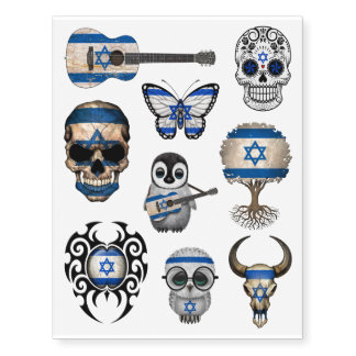 Patriotic Israeli Flags Collection