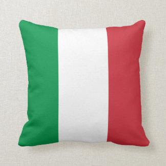 Patriotic Italian Flag Cushion