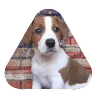 Patriotic Jack Russell Terrier