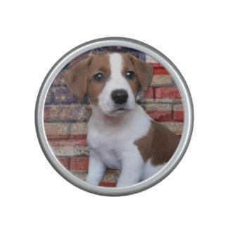 Patriotic Jack Russell Terrier Bluetooth Speaker