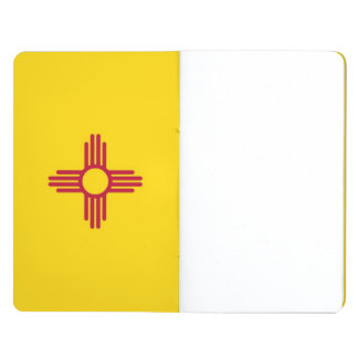 Patriotic journal with Flag of New Mexico