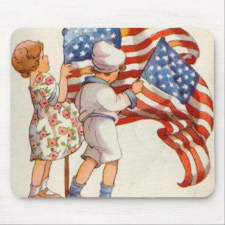 Patriotic Kids Mousepads