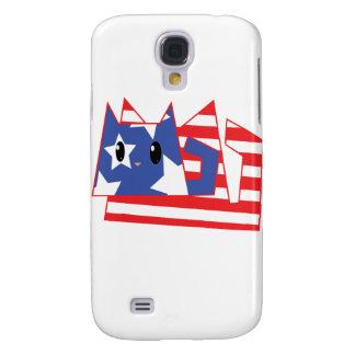 Patriotic Kitty Galaxy S4 Case