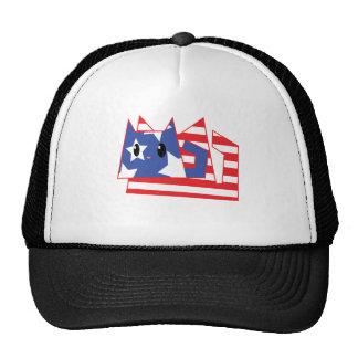 Patriotic Kitty Hat