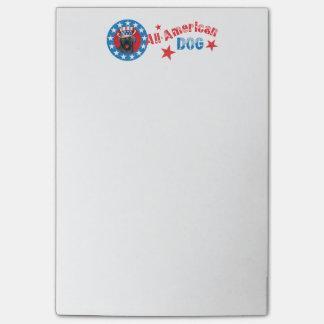 Patriotic Labrador Retriever Post-it® Notes