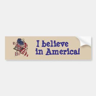Patriotic Liberty Bell Bumper Sticker