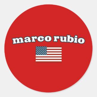 Patriotic Marco Rubio Sticker