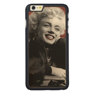Patriotic Marilyn Carved Maple iPhone 6 Plus Case