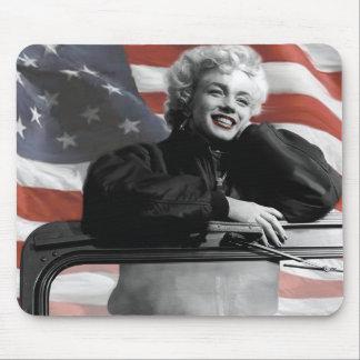 Patriotic Marilyn Mouse Mat