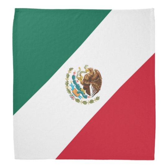 Patriotic Mexican Flag Bandera Mexicana Tricolor Bandana