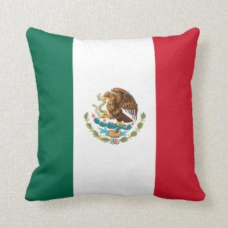 Patriotic Mexican Flag Cushion