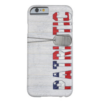 Patriotic military dog tags barely there iPhone 6 case
