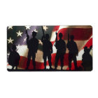 Patriotic Military Soldier Silhouettes