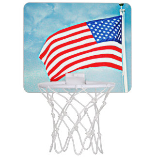 Patriotic Mini Basketball Goal Mini Basketball Hoop