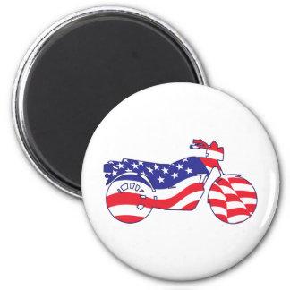 Patriotic Motorcycle Magnets