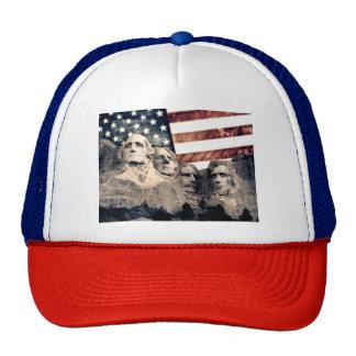 Patriotic Mount Rushmore Cap