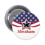 Patriotic Name Tags | Convention Name Buttons