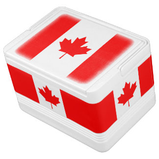 Patriotic National Flag of CANADA Igloo Cool Box