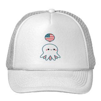 Patriotic Octopus Cap