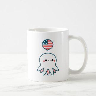 Patriotic Octopus Coffee Mug