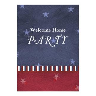 Patriotic or Military Party Invitation