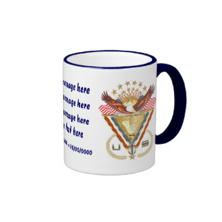 Patriotic or Veteran add PhotoView Artist Comments Ringer Mug