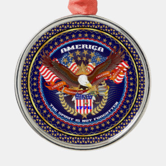 Patriotic or Veteran View Artist Comments Christmas Ornament