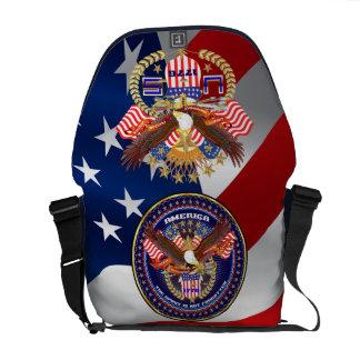 Patriotic or Veteran View Artist Comments Commuter Bag