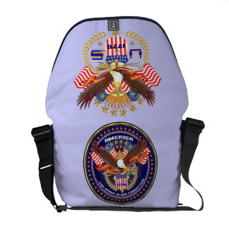 Patriotic or Veteran View Artist Comments Commuter Bags
